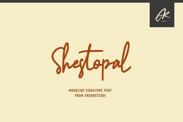 Shestopal Monoline Signature