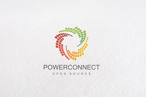 Premium Power Connect Logo Templates