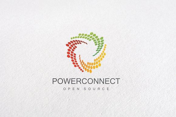 Premium Power Connect Logo Templates