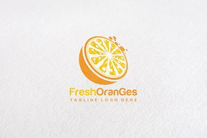Premium Orange Logo Templates
