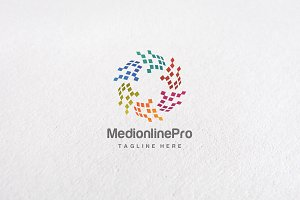 Premium Media Online Logo Templates
