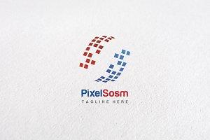 Premium Pixel S Logo Templates