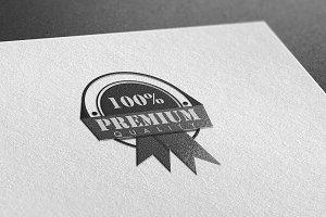 100% Premium Quality Logo