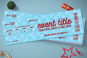 Magic red christmas event tickets