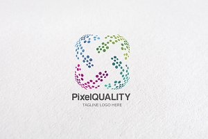 Premium Pixel Quality Logo Templates