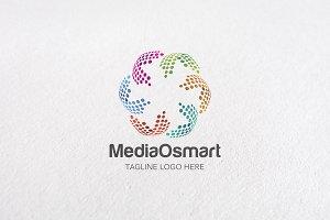 Premium Media O Smart Logo Templates