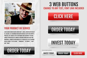 3 Web Buttons