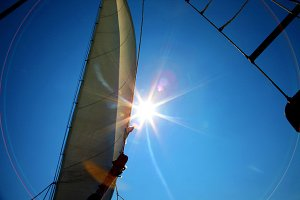 Sail with the sunshine