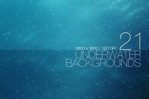 21 Underwater Backgrounds