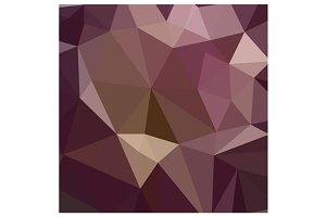 Deep Tuscan Red Purple Abstract Low