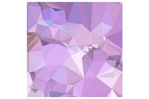 Electric Lavender Abstract Low Polyg