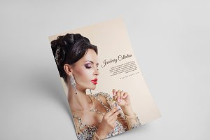 Jewellery Product Pricing List Flyer