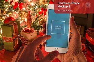 Christmas iPhone Mockup 1