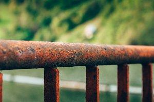 Reddish fence