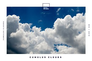 Cumulus Clouds | Hero Image Bundle
