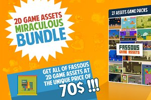 2D ASSETS GAMEPACKS HUGE BUNDLE