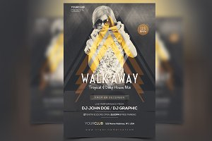 Walk Away - PSD Flyer