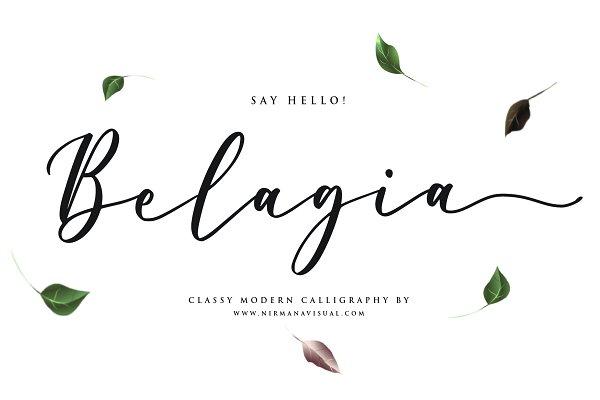Belagia - Classy Calligraphy