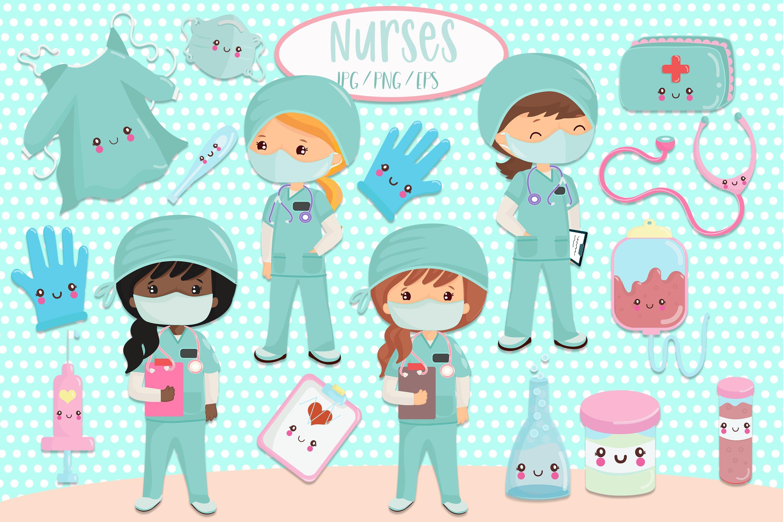 Nurse, Nurse Clipart, Cartoon Creative, Cartoon PNG Transparent Image and  Clipart for Free Download