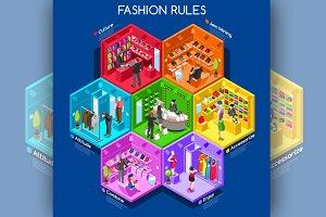 Fashion Cells Isometric