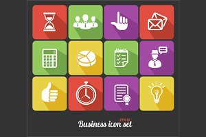 Office and Business Icons Set.Vector
