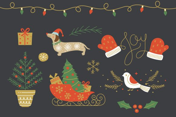 Christmas Collection EPS & PNG in Illustrations - product preview 1