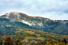 Mountain colorful landscape. Alps.