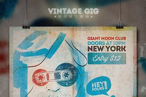 Vintage GIG Poster IV