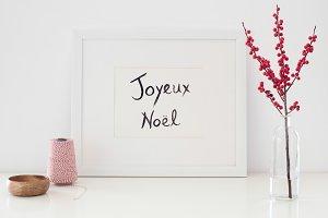 Christmas Frame | PSD Mockup