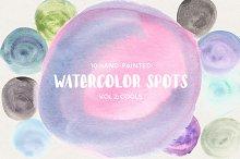 Watercolor Spots Vol 2: Cools