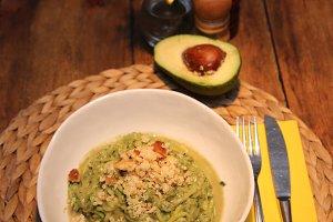 avocado- pasta