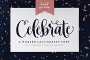 Celebrate Font & Graphics Pack