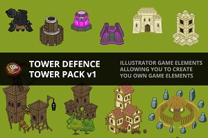 Tower Defence - Tower Pack v1