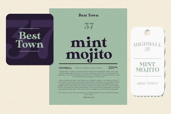 Modern Font Bundle | 95% Off in Display Fonts - product preview 7