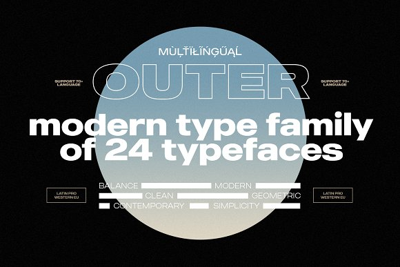 Modern Font Bundle | 95% Off in Display Fonts - product preview 10