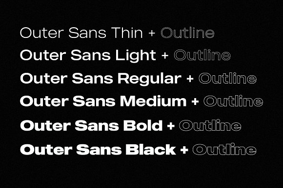 Modern Font Bundle | 95% Off in Display Fonts - product preview 13