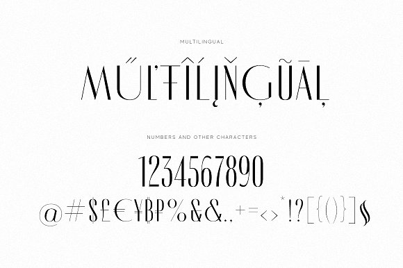Modern Font Bundle | 95% Off in Display Fonts - product preview 94