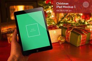 Christmas iPad Mockup 1