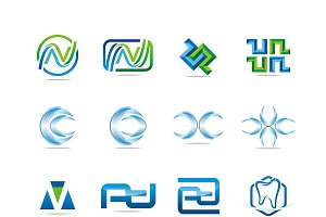 Graphic Vector suitable for Logo #12