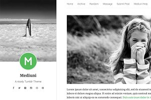 Mediuni Tumblr Theme