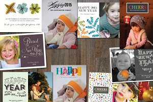 9 New Year Cards Templates