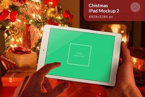Christmas iPad Mockup 2