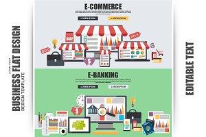 Flat Concept E-Commerce, E-Banking