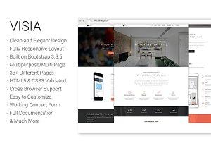 Visia -  Creative Agency/Portfolio