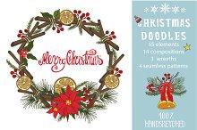 Christmas doodle decoration kit02