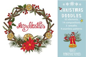 Christmas doodle decoration kit02