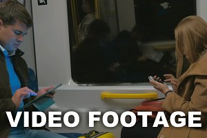 Passengers of Stockholm Subway