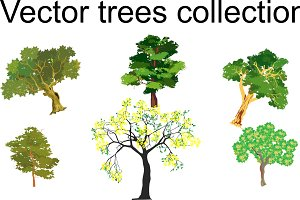 Collection of vector trees