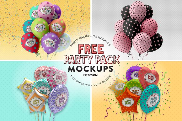 Party Cups Mockup in Branding Mockups - product preview 5
