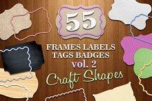 Frames Labels Tags Badege Crafts v2